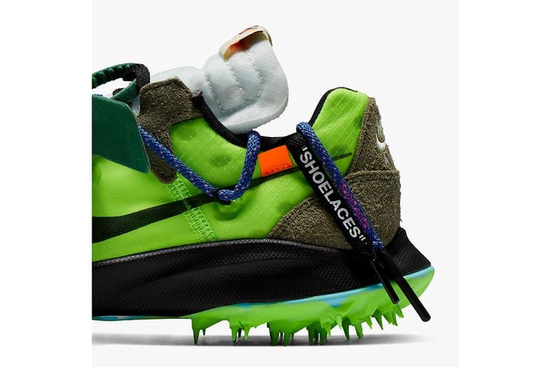 Off-White™ x Nike 聯乘 Zoom Terra Kiger 5 鞋款正式發佈