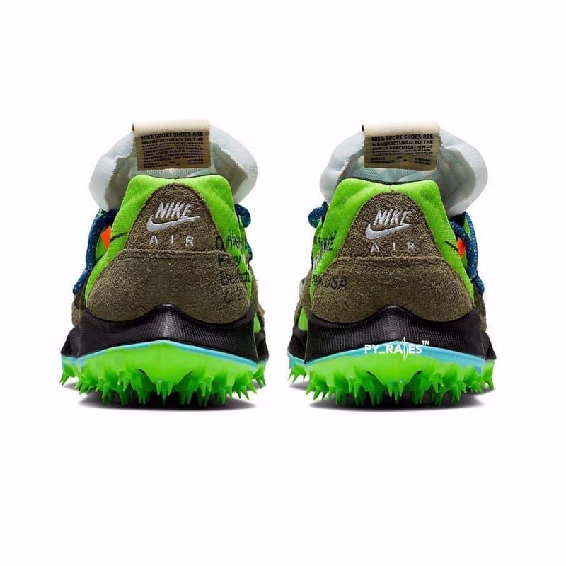 Off-White™ x Nike 全新聯名鞋款 Zoom Terra Kiger 5 清晰圖片釋出