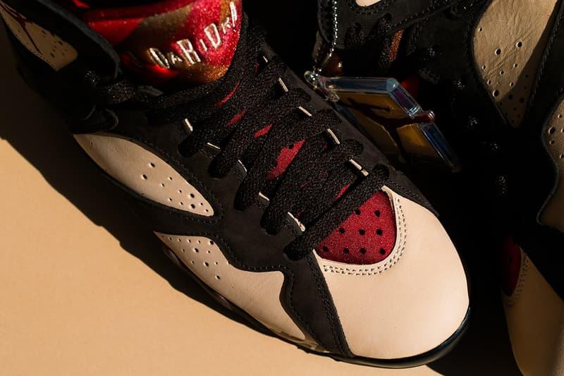 近賞 Patta x Air Jordan 7 全新聯乘鞋款