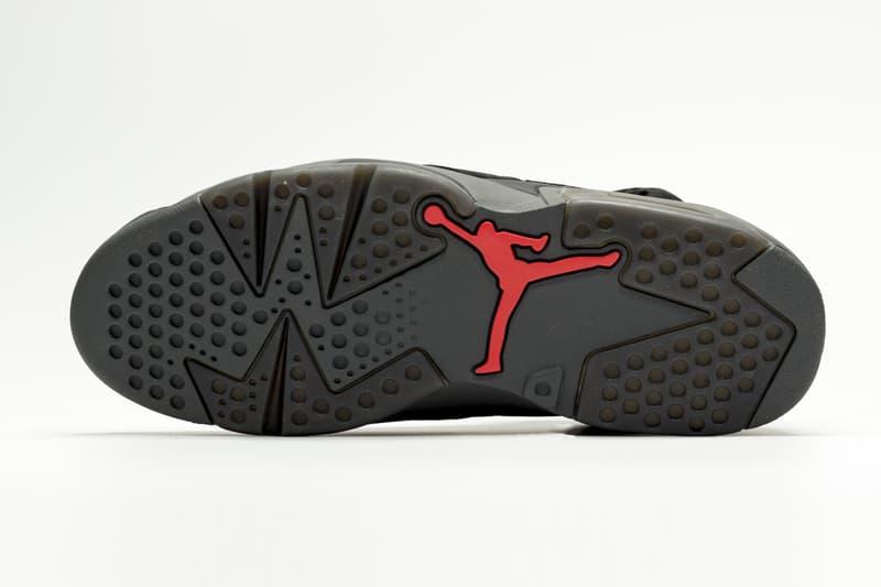 率先近賞 Paris Saint-Germain x Air Jordan 6 全新聯乘設計