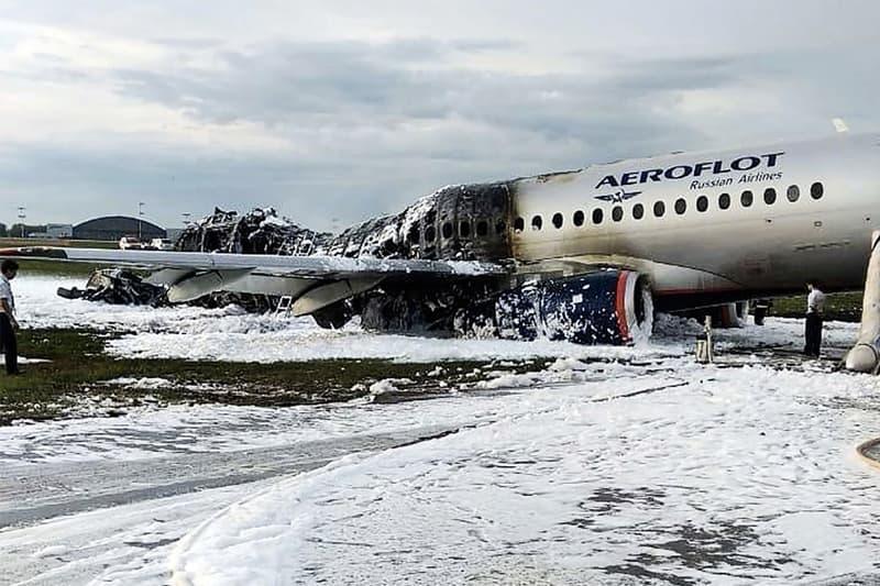 重大空難 − 俄羅斯航空客機引擎爆炸釀 41 人喪生