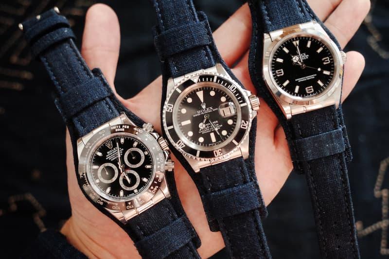 昔日傳統-Simple Union 推出全新藍染製飛行員軍錶帶