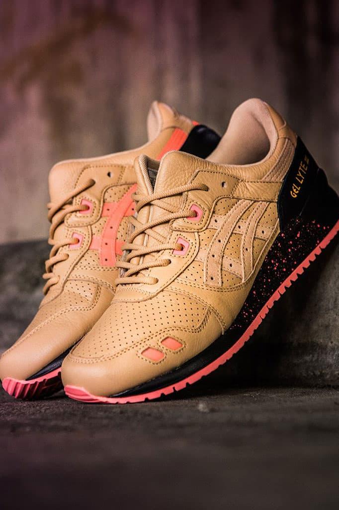 搶先預覽 Sneaker Freaker x ASICS GEL-LYTE III「Tiger Snake」聯乘鞋款