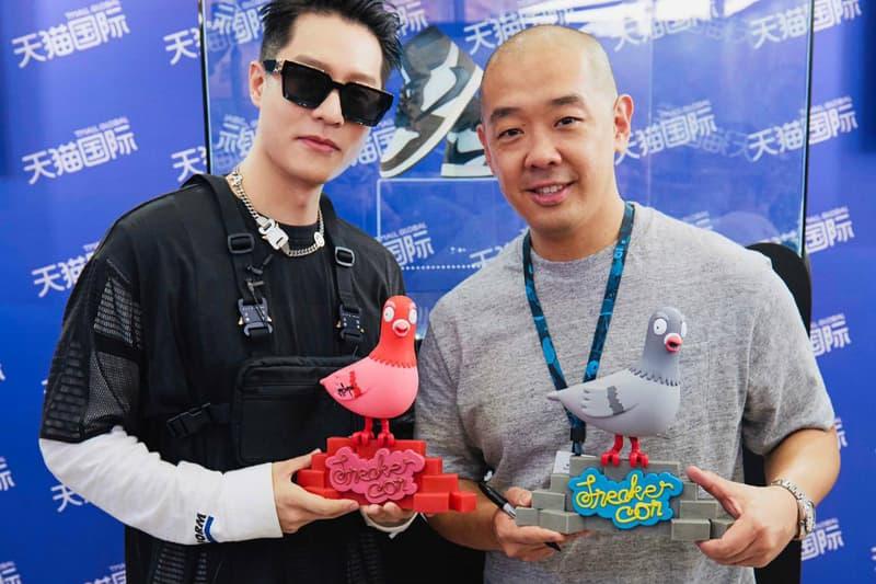 「官方形象大使」周湯豪出席 SneakerCon 上海站