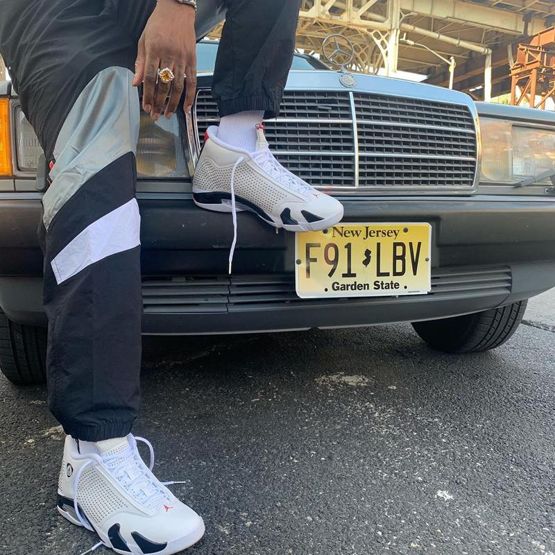 Bloody Osiris 搶先上腳 Supreme x Air Jordan 14 聯乘鞋款