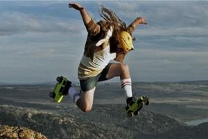 非一般機能展示-SUZUKI JIMNY 化身滾軸溜冰鞋征服崎嶇山路