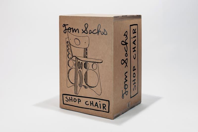 Tom Sachs 發佈全新工業風木椅