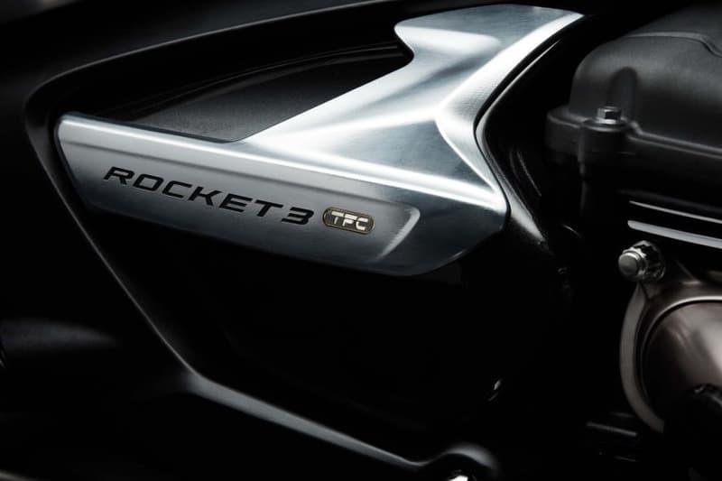 Triumph 推出極罕有全新世代 Rocket III 定製車型