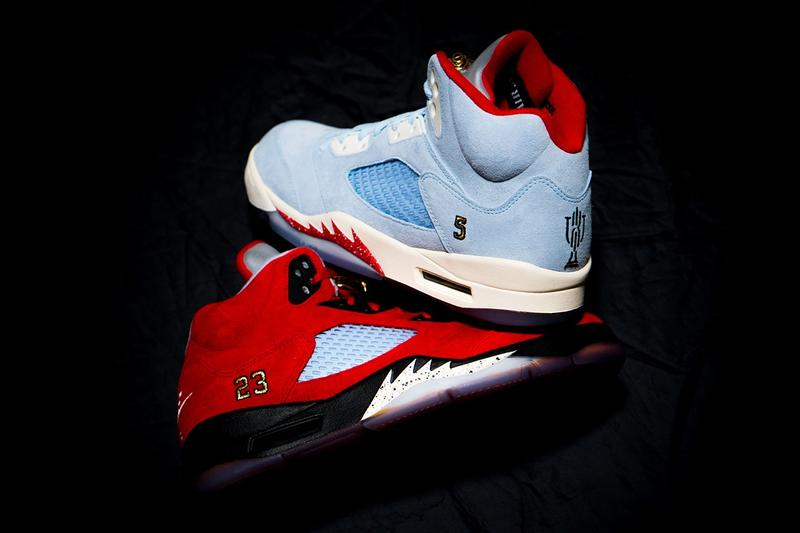 近賞 Trophy Room x Air Jordan 5 全新聯乘系列