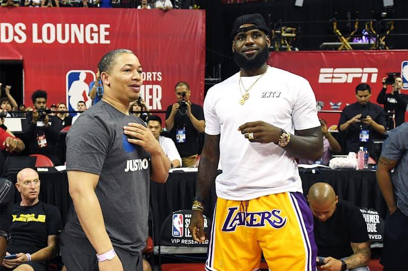 消息稱 Tyronn Lue 將成為 Los Angeles Lakers 新賽季總教頭