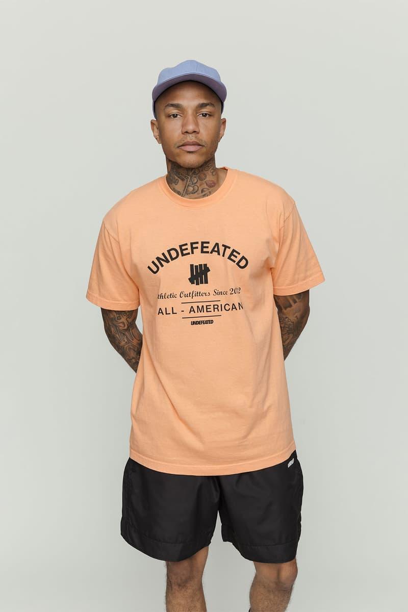 UNDEFEATED 2019 春夏系列 Lookbook 正式發佈