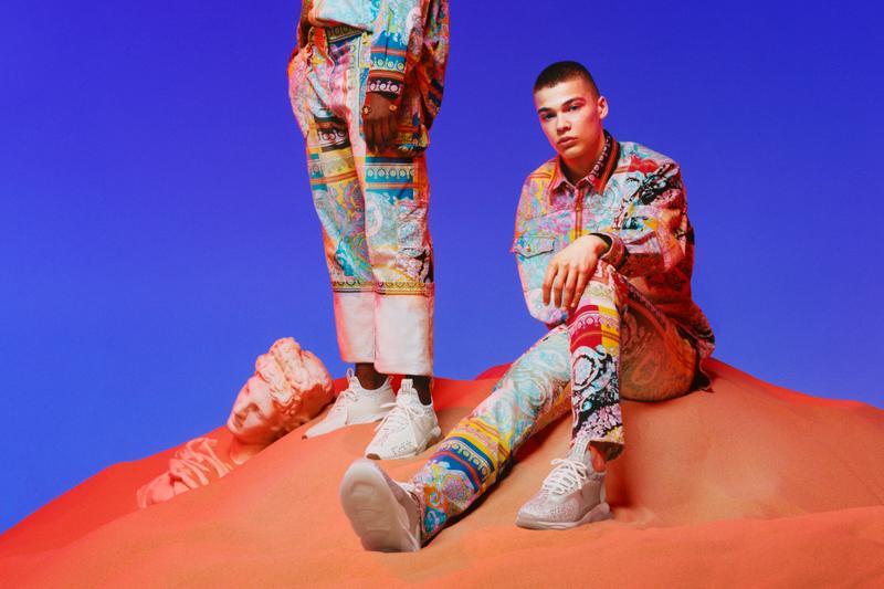 Chain Reaction 家族新成員参上 - Versace 推出全新 Cross Chainer 運動鞋