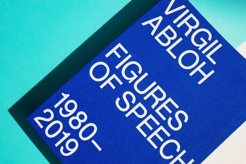 必讀潮流聖經!搶先預覽 Virgil Abloh 個人書籍《Figures Of Speech》