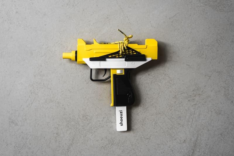 潮流融會-WOAW 獨家引入 The Shoeuzi v2 槍形藝術雕塑