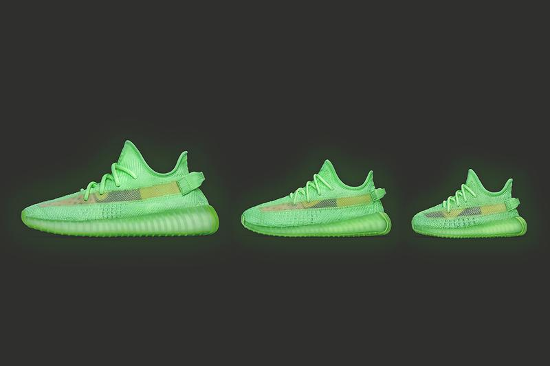 YEEZY BOOST 350 V2「Glow In The Dark」配色香港區發售情報