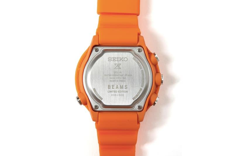 Seiko x Beams 聯手打造 Fieldmaster LOWERCASE 限量別注手錶