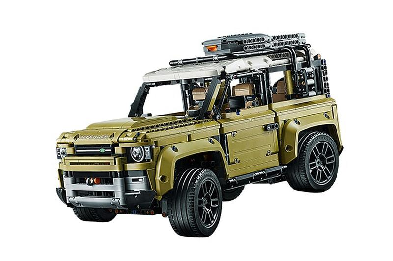 永遠之男生夢-LEGO Technic 推出 Land Rover Defender 積木模型