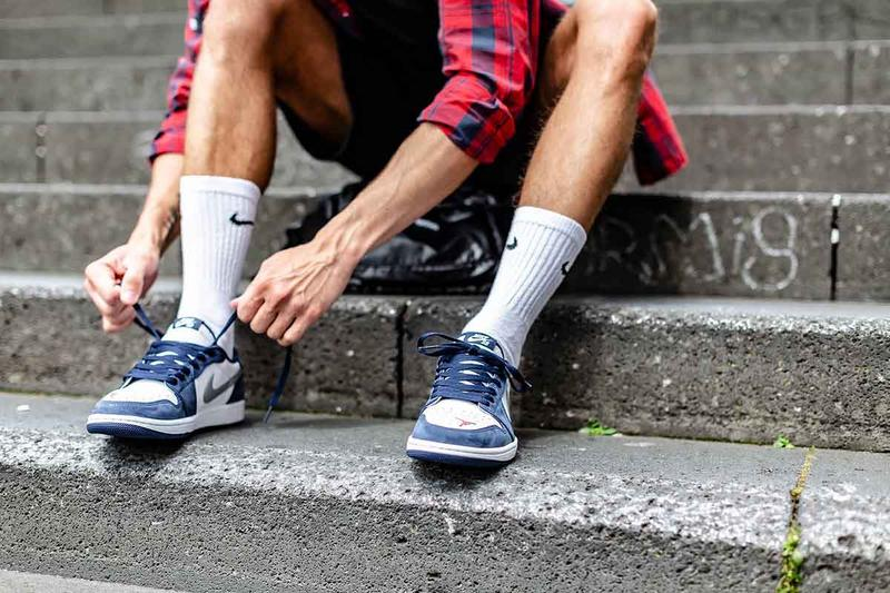 Nike SB Air Jordan 1 Low「Eric Koston」專屬鞋款上腳照