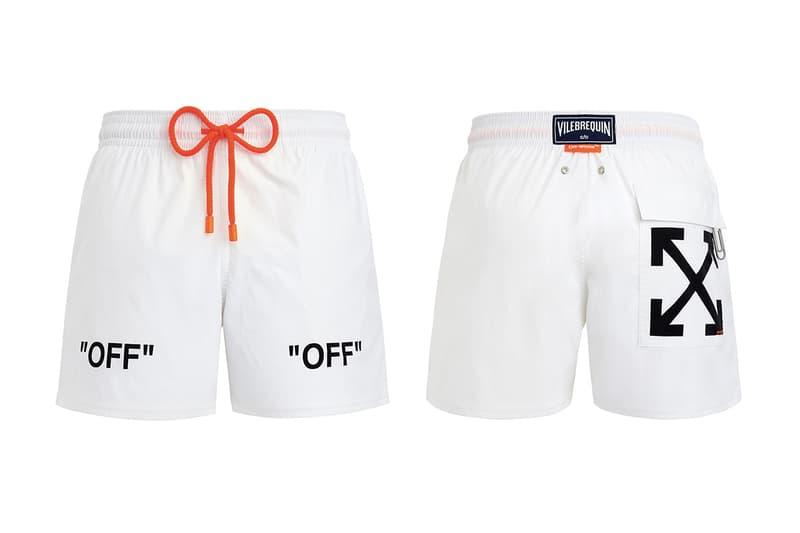 Off-White™ x VILEBREQUIN 攜手推出聯名泳裝系列