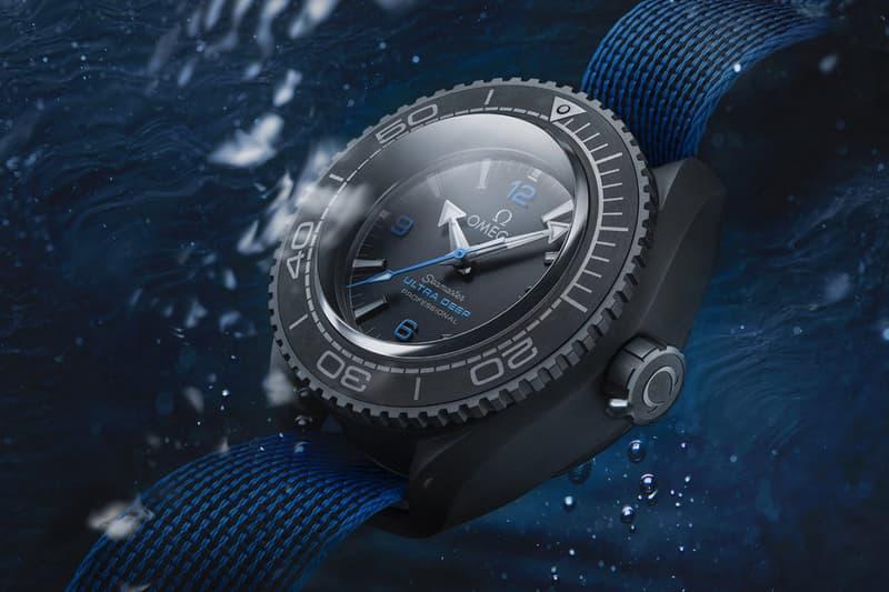 深海 10,928 米-Omega Seamaster 深潛手錶打破世界深潛紀錄