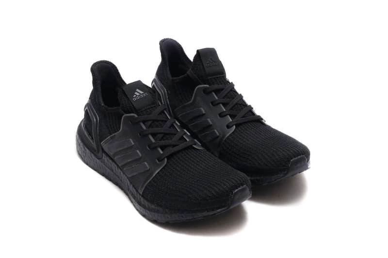 adidas UltraBOOST 19 黑魂配色「Core Black」上架