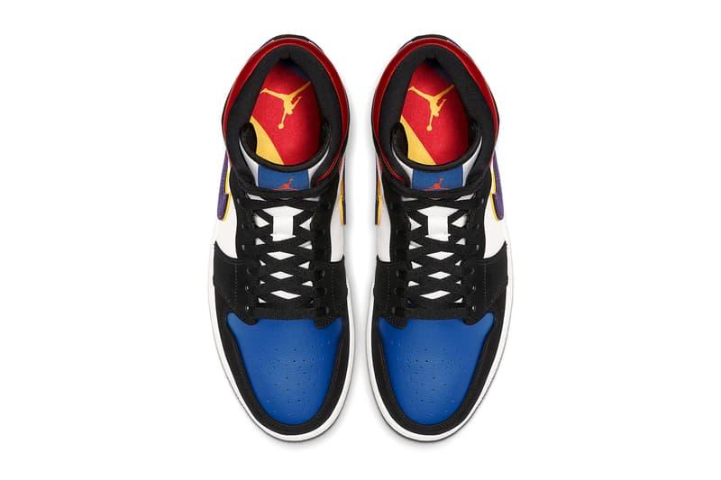 搶先預覽 Air Jordan 1 Mid 全新「What The」別注配色