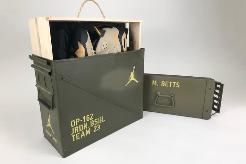 Jordan Brand 為旗下 MLB 運動鞋打造 Air Jordan 6「OP-162」特別套裝