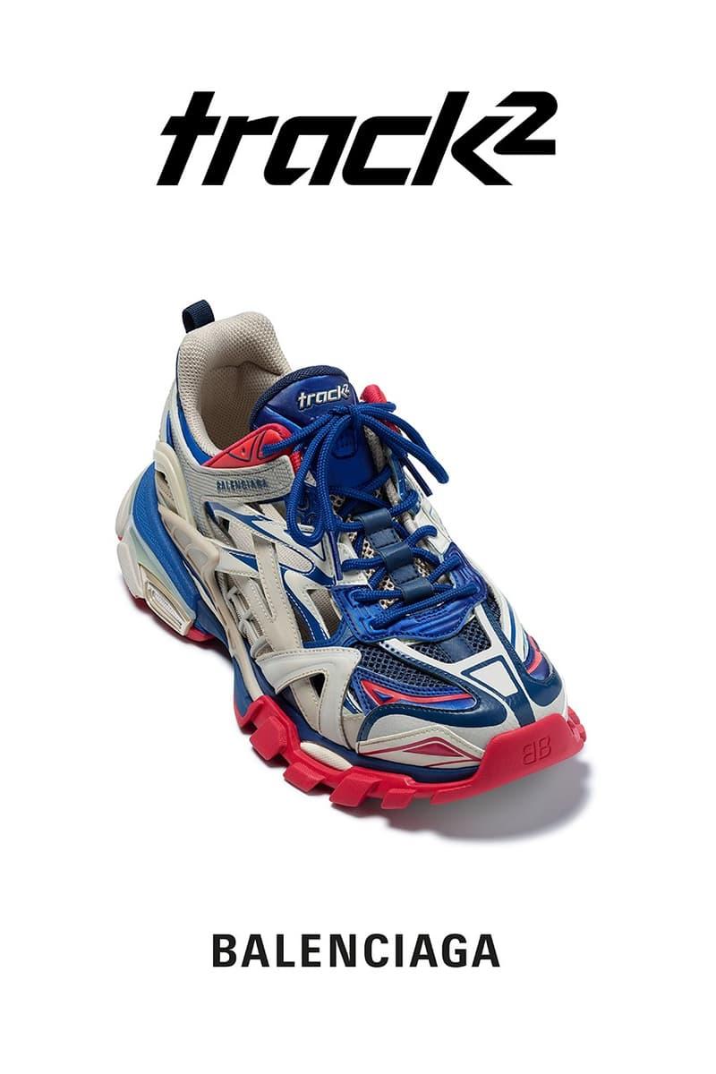 下一雙爆紅設計?Balenciaga 正式發佈全新 Track.2 運動鞋