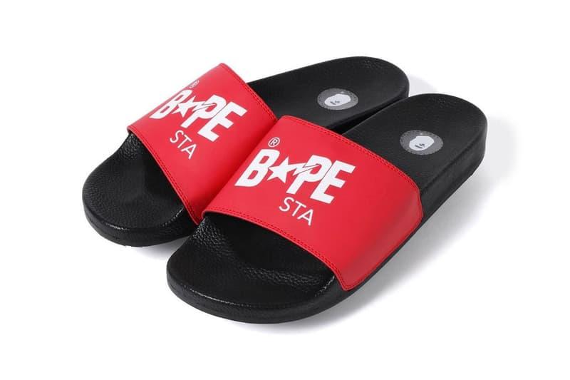 迎接夏季 − A BATHING APE® 全新 BAPESTA 樣式拖鞋發佈