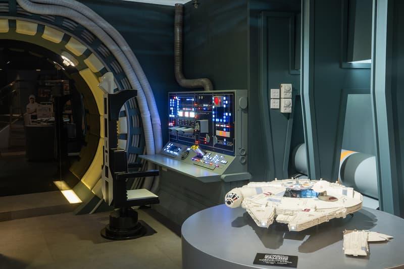 走進香港首間《星球大戰》「千歲鷹號」概念店