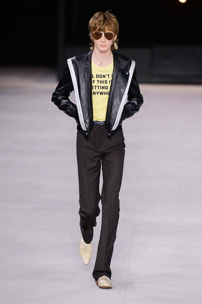 巴黎時裝周 − CELINE 2020 春夏男裝系列演繹 70 年代 Hollywood 搖滾風格