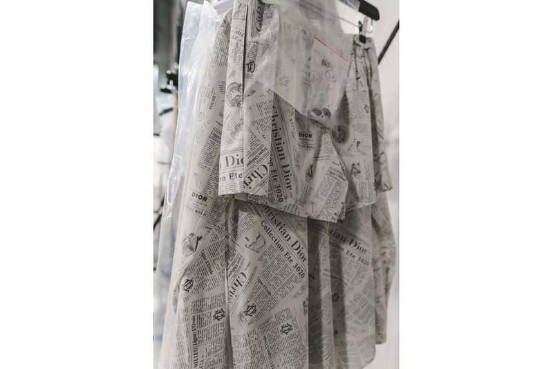 巴黎時裝周-直擊 Dior 2020 春夏男裝系列發佈會後台