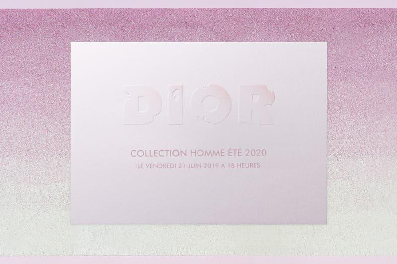 巴黎時裝周-Dior 2020 春夏男裝系列直播預覽