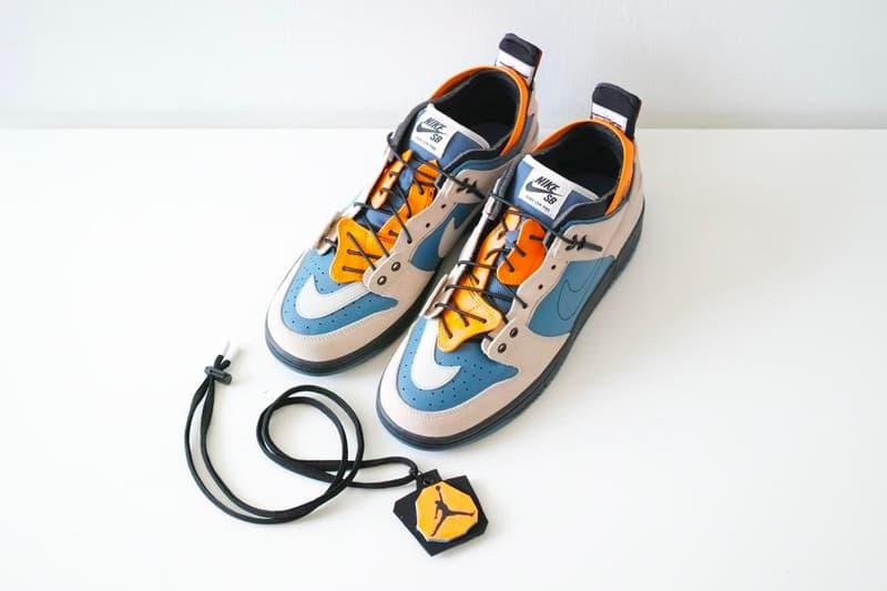 時尚名所 EJDER 與球鞋改製師 Ziv Lee 打造解構重組 Nike 鞋款