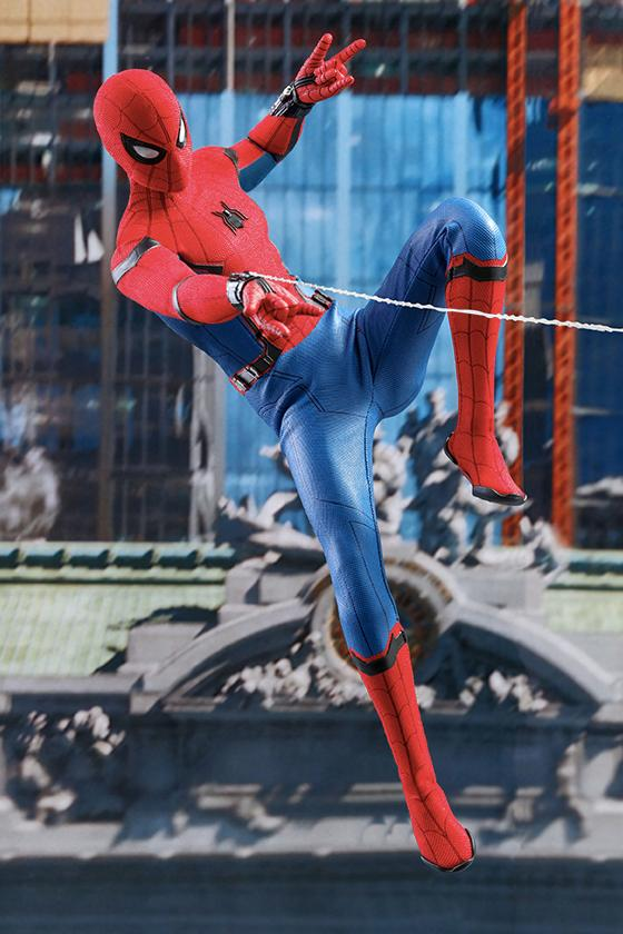 Hot Toys 推出《Spider-Man : Far From Home》Spider-Man 珍藏人偶