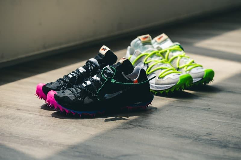 Off-White™ x Nike Zoom Terra Kiger 5 聯乘鞋款香港區抽籤情報公開