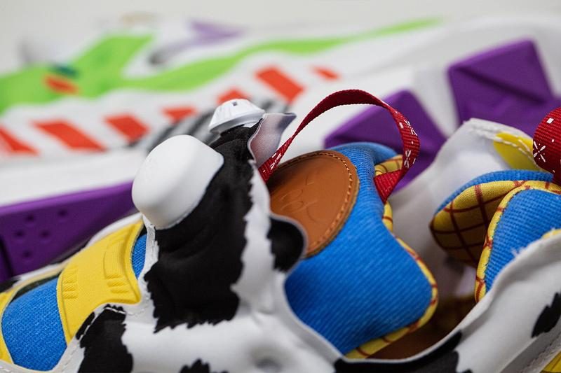 BAIT X Reebok 推出《Toy Story 4》主題聯名 Instapump Fury 系列