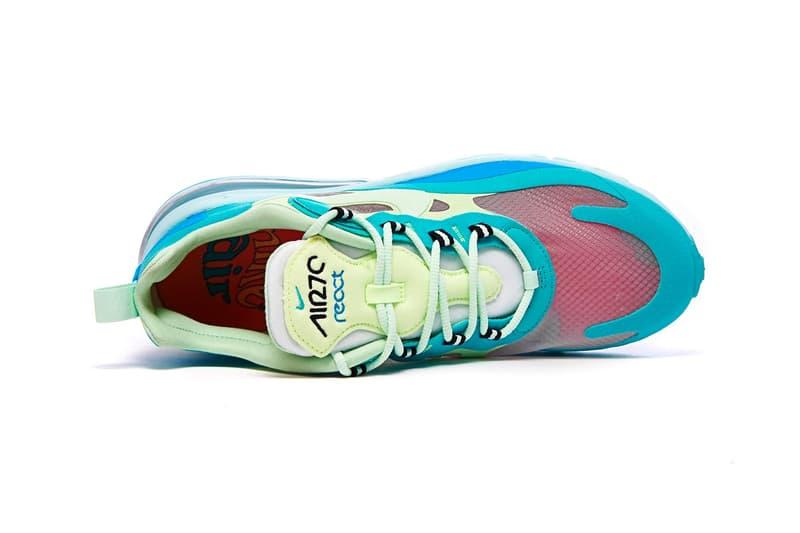 季節性過渡-Nike 追加全新三色 Air Max 270 React