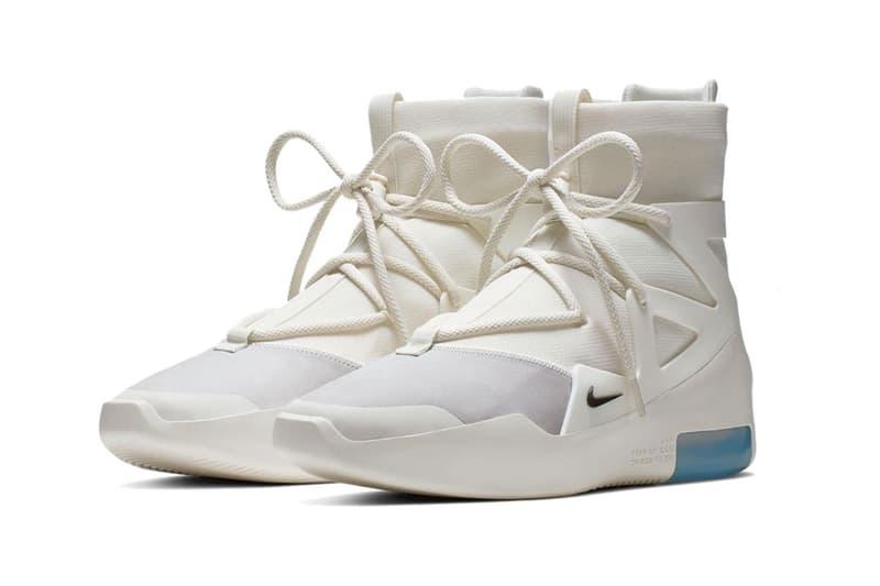 回歸簡約-Nike Air Fear Of God 1 全新「Sail」配色釋出