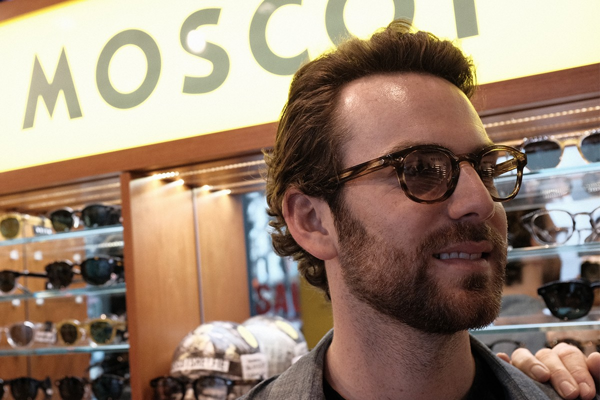 HYPEBEAST 專訪MOSCOT Dr. Harvey Moscot與Zack Moscot