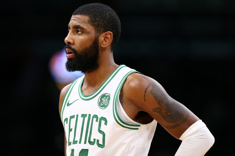 Boston Celtics 明星球員 Kyrie Irving 確認跳出合約轉投自由市場