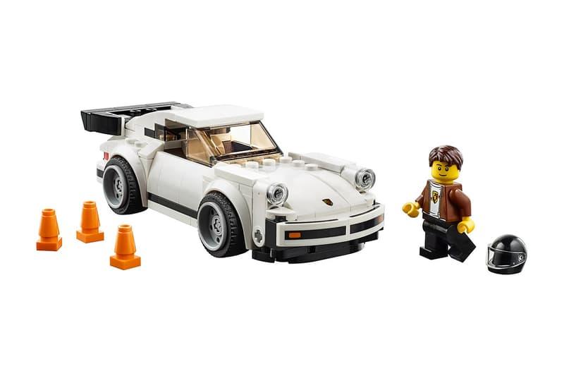 LEGO 打造 1974 年 Porsche 911 Turbo 3.0 積木模型