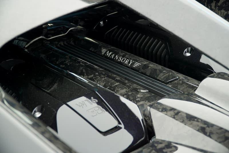 Mansory 打造價值近 500 萬美元碳纖維改裝 Bugatti Chiron