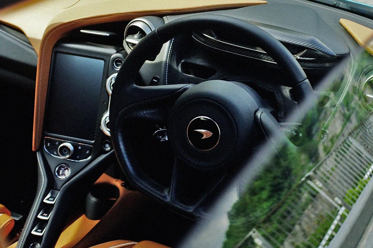 McLaren 720S Spider 頂級敞篷超跑之體驗