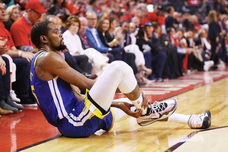 UPDATE: NBA 季後賽 2019 − Warriors 球員 Kevin Durant 確認為阿基里斯腱受傷