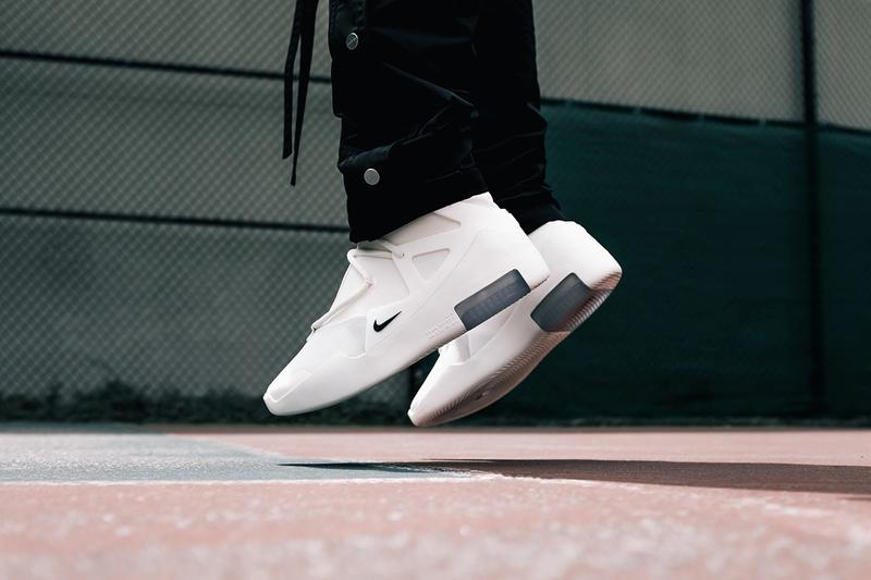 近賞 Nike Air Fear Of God 1 全新「Summertime Sail」白色版本