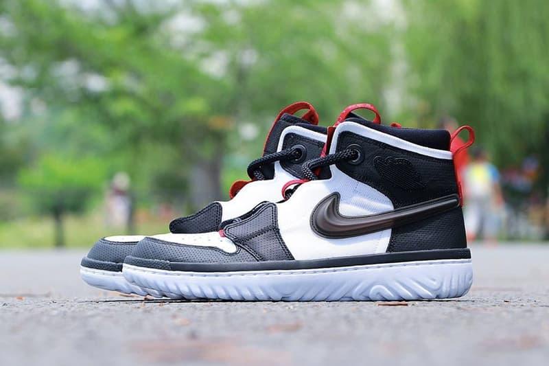 高機能變奏-Nike 推出 React 底混種 Air Jordan 1 Hi