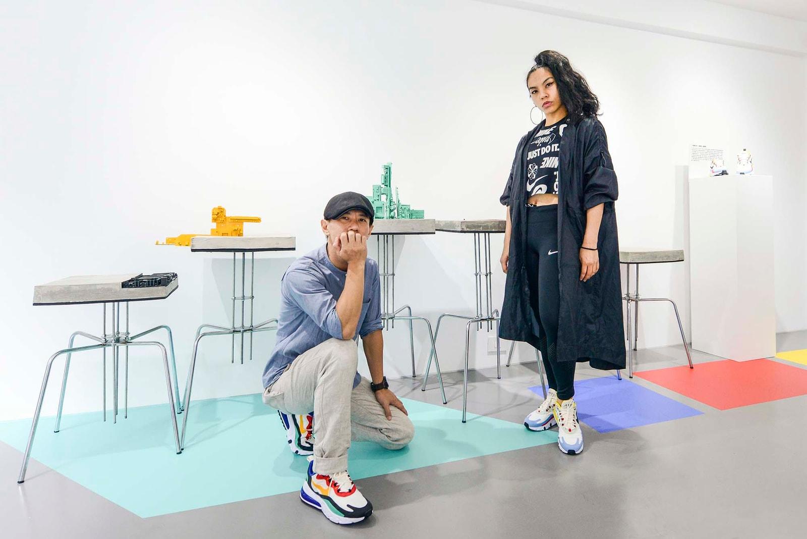 承襲 Nike Air Max 270 React 創新精神的跨領域藝術展