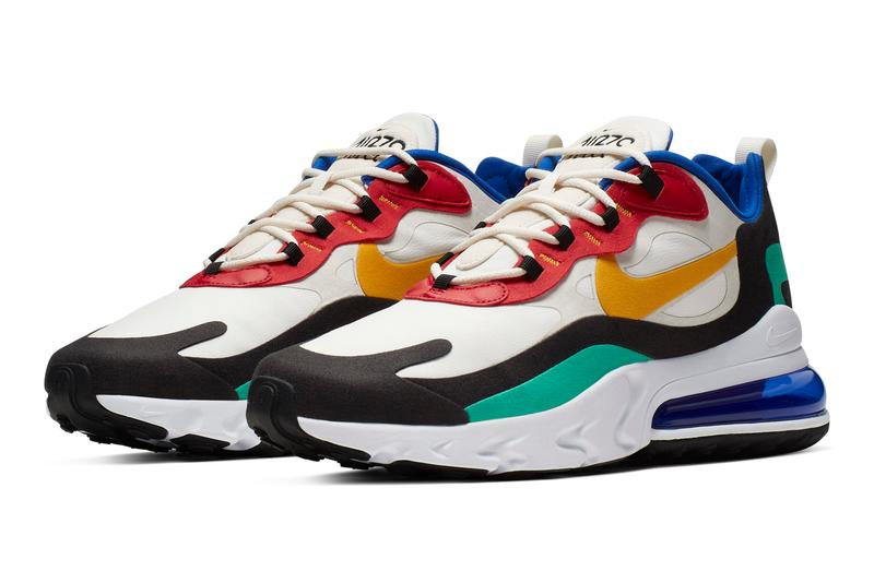 異素材混集-Nike 正式發佈全新鞋款 Air Max 270 React