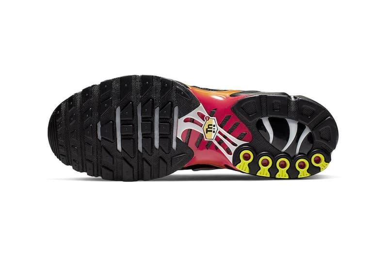 Nike Air Max Plus 經典配色「Tiger」回歸